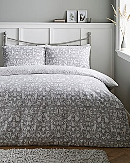 Woodland Brushed Cotton Duvet Cover Set