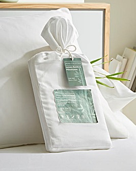100% Bamboo Housewife Pillowcase Pair