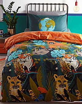 Wild Animals Duvet Set