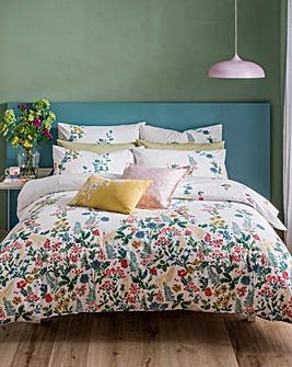 Cath Kidston Twilight Garden 200 Thread Count Cotton Duvet Cover Set