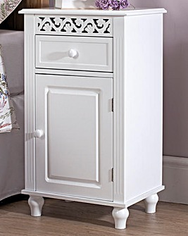 French Inspired Drawer and Door Cabinet