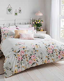 Cath Kidston Vintage Bunch 200 Thread Count Cotton Duvet Cover Set