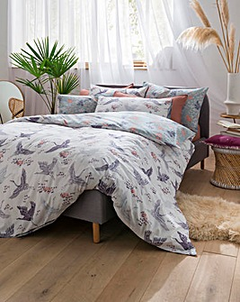Fat Face Floral Flight Duvet Set