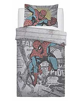 Spider-Man Comic Group Duvet Set