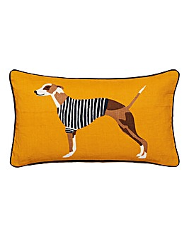 Joules Harbour Dogs Cushion