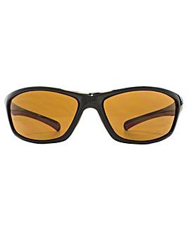 Freedom Polarised Laxey Wrap Sunglasses