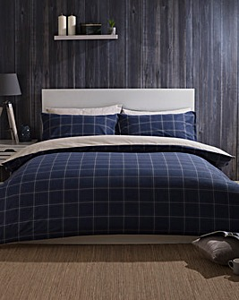 Vail Brushed Cotton Duvet Set