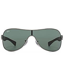 Ray-Ban Wrap Visor Sunglasses