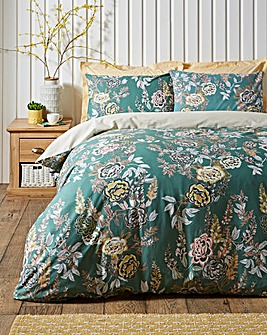 Vantona Oriental Trail 180 Thread Count Duvet Cover Set