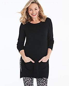 Black Pocket Tunic