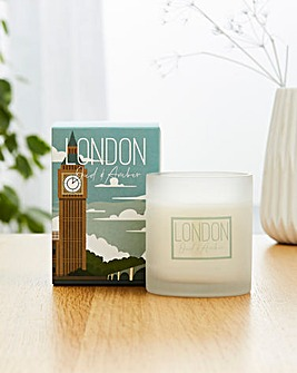 London Destinations Collection Black Pepper & Cardamom Candle