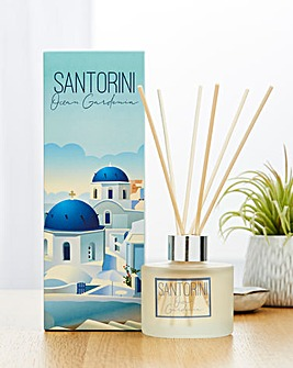 Santorini Destinations Collection White Floral Diffuser