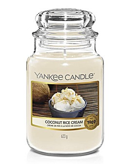 Yankee Candle Coconut Rice Cream Large