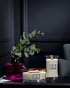 Woodwick Ellipse Coconut and Tonka Candle