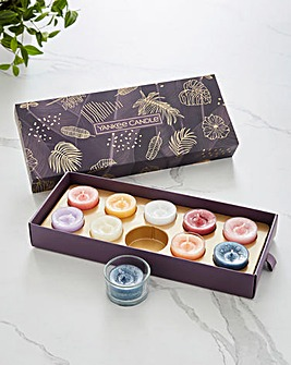 Yankee Candle 10 Tealight 1 Holder Gift Set
