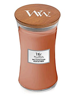 Woodwick Chilli Pepper Gelato Large Jar