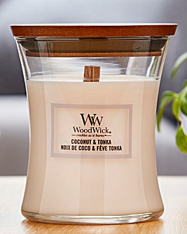 Woodwick Coconut and Tonka Medium Jar