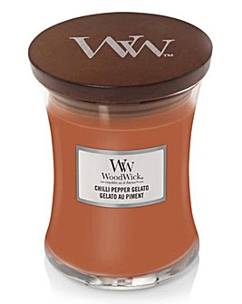 Woodwick Chilli Pepper Gelato Medium Jar