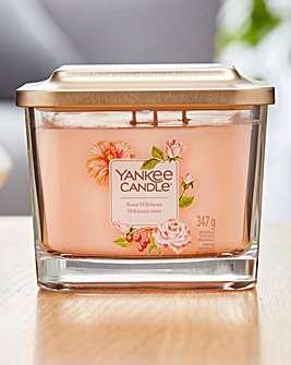 Yankee Candle Rose Hibiscus Medium Jar