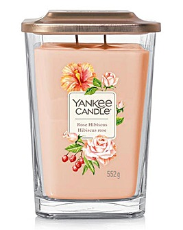 Yankee Candle Rose Hibiscus Large Jar