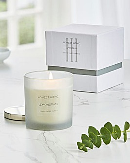 Honest Home Number Three Small Candle