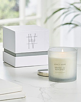 Honest Home Small Orange and Bergamot Candle