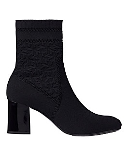 Tommy Hilfiger Knitted Heel Boots Standard D Fit