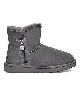Ugg Bailey Zip Mini Boots D Fit