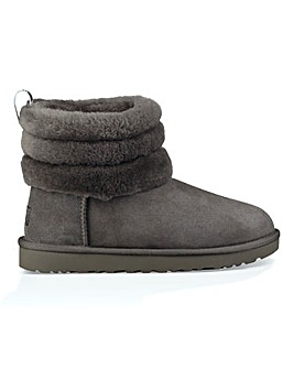 Ugg Fluff Mini Quilted Boots D Fit