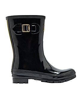 Joules Mid Kelly Gloss Wellies D Fit