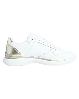 Tommy Hilfiger Leather Lightweight Sneaker D Fit