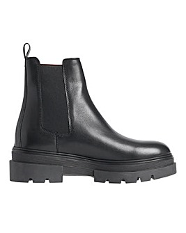 Tommy Hilfiger Monochromatic Chelsea Boots D Fit