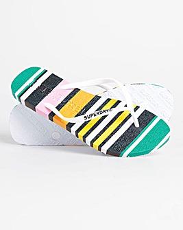 Superdry Super Stripe Flip Flops D Fit