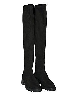 Vero Moda Sella Overknee Boots D Fit