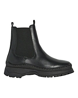 Vero Moda Bell Leather Boots D Fit