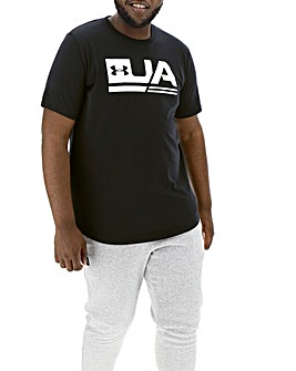 Under Armour Sportstyle Drop Hem T-Shirt