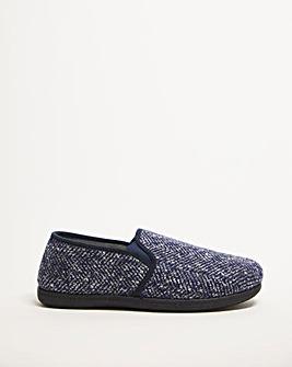 Dunlop Joel Textured Loafer Slipper