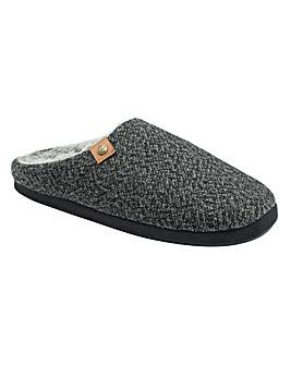 Dunlop Jonah Textured Mule Slipper