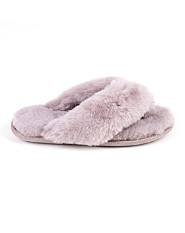 Just Sheepskin Rose Slippers D Fit