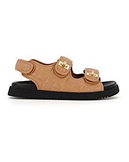 Dune Lockstockk Sandals Standard D Fit