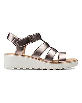 Clarks Jillian Quartz Sandals Standard D Fit
