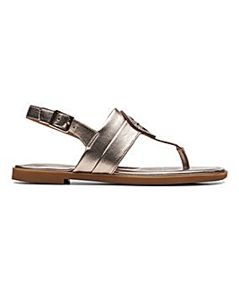 Clarks Reyna Glam Sandals Standard D Fit