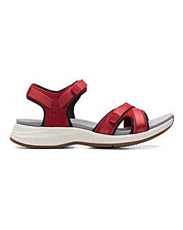 Clarks Solan Drift Sandals Standard D Fit