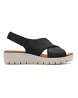 Clarks Un Karely Sun Sandals E Fit