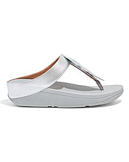 Fitflop Fino Feather Toe-Post Sandals D Fit