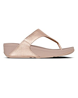 Fitflop Lulu Leather Toe-Post Sandals D Fit