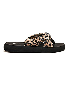 Rocket Dog Slade Veeno Leopard Sandals D Fit