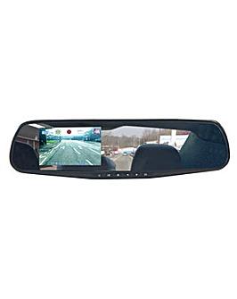 Streetwize Rear View Mirror Dash Cam HD