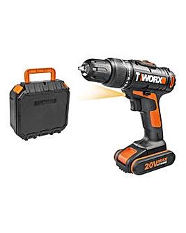WX366.2 Max Cordless Hammer Drill - 20V
