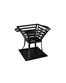 La Hacienda Square Steel Firepit